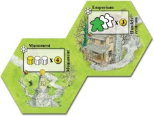 Keyflower: Emporium & Monument promo tiles