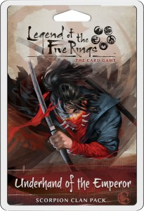 Legend of the Five Rings: The Card Game – Underhand of the Emperor (Scorpion Clan Pack)