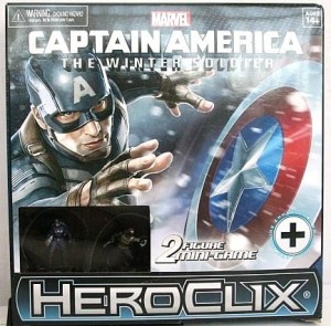 Marvel Heroclix: Captain America – The Winter Soldier Movie Mini Game