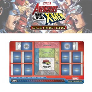 Marvel Dice Masters: Avengers VS X-Men Play Mat