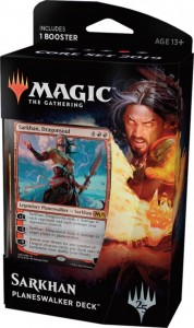 Magic: The Gathering - Core Set 2019 - Planeswalker Deck (Sarkhan)