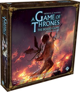 A Game of Thrones (second edition) - Mother of Dragons expansion