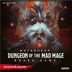 Waterdeep: Dungeon of the Mad Mage Board Game (Standard edition)
