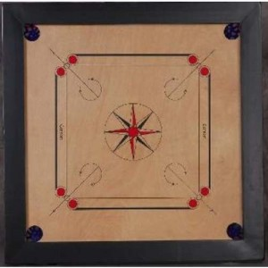 Carrom - plansza Syndicate Tournament Natural