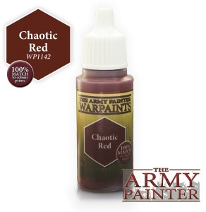 Warpaints: Chaotic Red