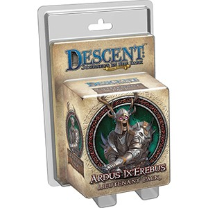 Descent 2nd Edition: Ardus Ix'Erebus Lieutenant Pack