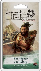 Legend of the Five Rings: The Card Game – Imperial Cycle - For Honor and Glory