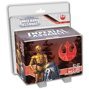 Star Wars: Imperial Assault – R2-D2 and C-3PO Ally Pack
