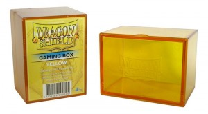 Pudełko na talie (Dragon Shield Gaming Box) - Yellow (Żółte)