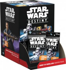 Star Wars: Destiny - Spirit of Rebellion booster pack (36szt)