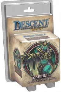 Descent 2nd Edition: Zarihell Lieutenant Pack