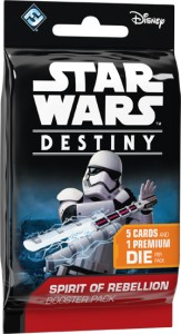 Star Wars: Destiny - Spirit of Rebellion booster pack (1szt)