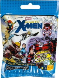 Marvel Dice Masters: The Uncanny X-Men Dice Building Game Gravity Feed Pack