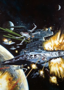 FFG Art Sleeves - X-Wing Assault