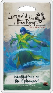 Legend of the Five Rings: The Card Game – Imperial Cycle - Meditations on the Ephemeral