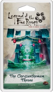 Legend of the Five Rings: The Card Game – Imperial Cycle - The Chrysanthemum Throne