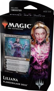 Magic: The Gathering - Core Set 2019 - Planeswalker Deck (Liliana)