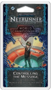 2016 Android: Netrunner World Champion Corp Deck