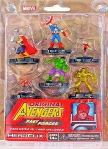 Marvel HeroClix: Classic Avengers Fast Forces